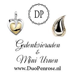 Duopenrose Asjuwelen en Mini Urnen